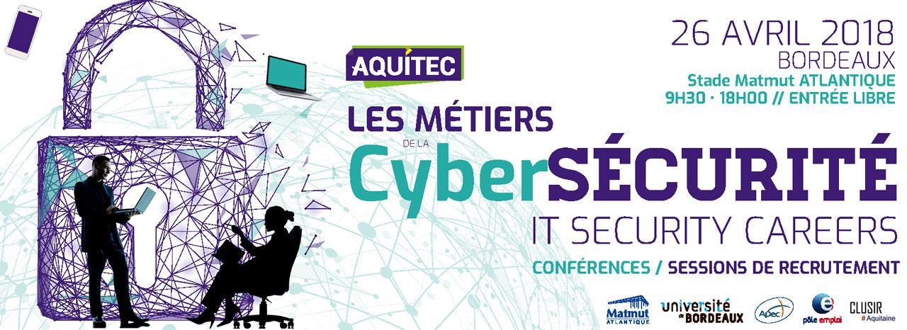 Aquitec - Les métiers de cybersécurité