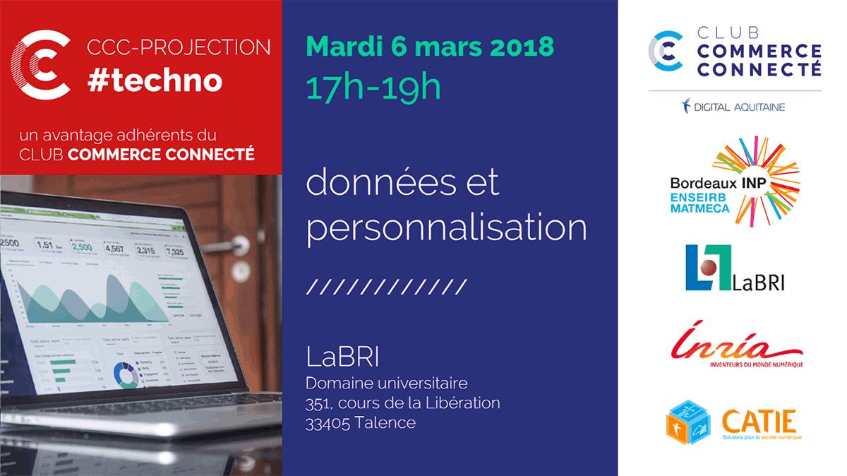 CCC-PROJECTION #techno – data et personnalisation