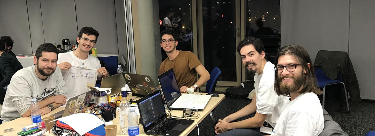Des élèves-ingénieurs de l'ENSEIRB-MATMECA ont participé au Hackathon GENCII
