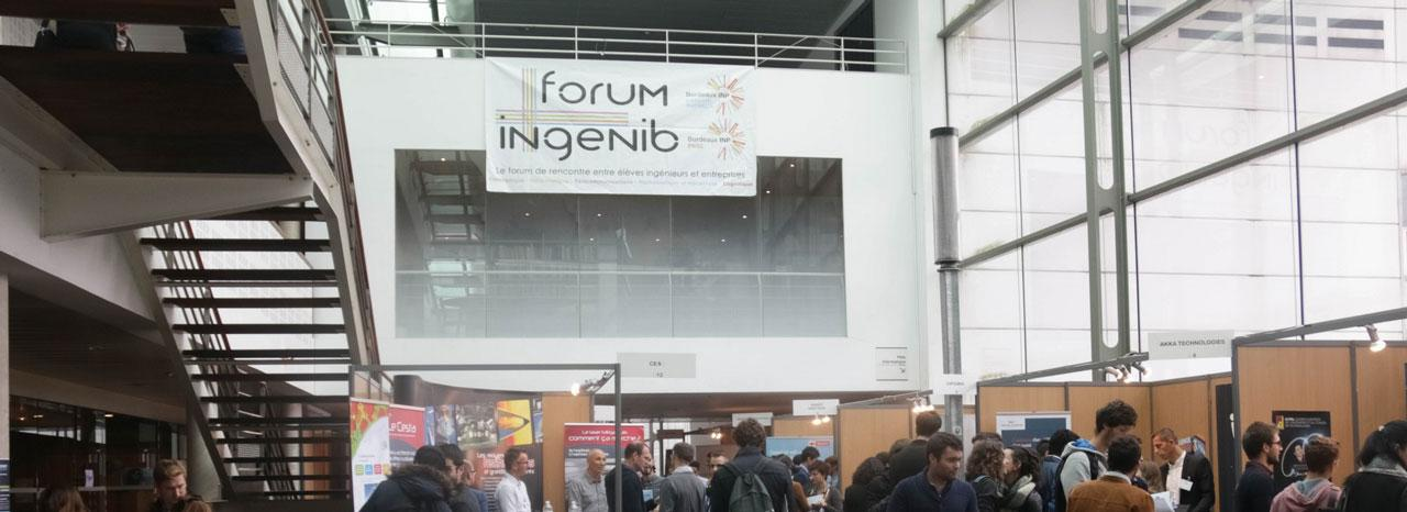 Forum Ingénib 2018