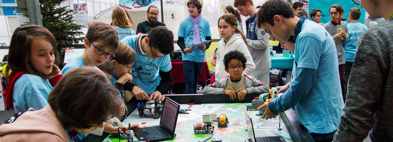 Robot Maker's Day et First Lego League
