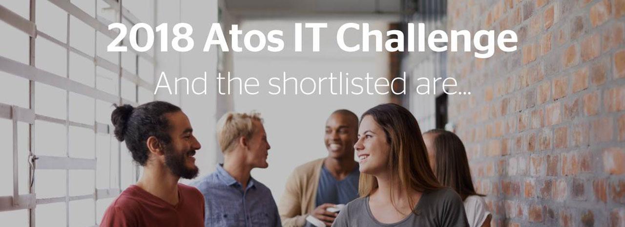 1 équipe de l'ENSEIRB-MATMECA sélectionnée pour la 2ème phase de l'ATOS IT Challenge 2018 !