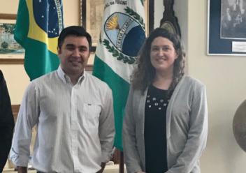 Les Relations Internationales de l'ENSEIRB-MATMECA en visite au Brésil