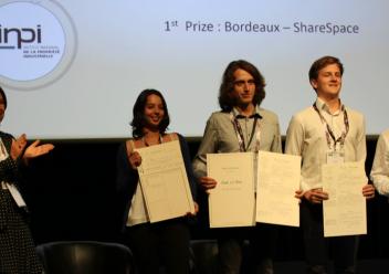 Un grand succès pour l'équipe ShareSpace (projet Nuage) au Concours Act In Space 2018