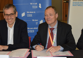 Signature d'un accord de partenariat SII Sud-Ouest - ENSEIRB-MATMECA