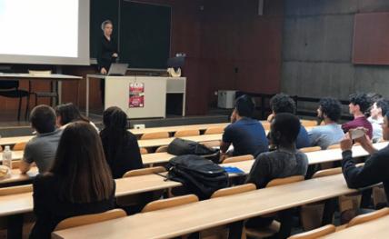 Stellenbosch University en visite à Bordeaux INP