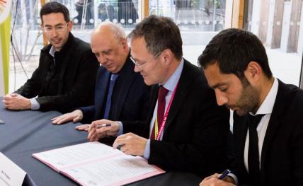 Signature de la convention de partenariat ALTRAN - ENSEIRB-MATMECA