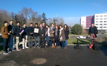 Concours de conception d'antennes à l'ENSEIRB-MATMECA